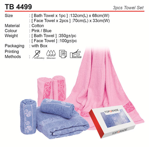 Face and Bath Towel Set (TB4499)