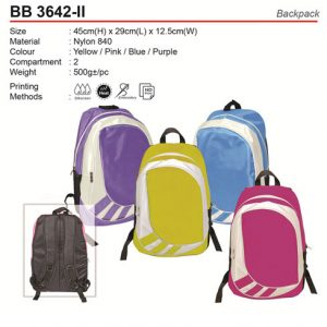 Fashion Backpack (BB3642-II)