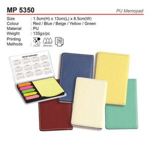 PU Memo Pad (MP5350)