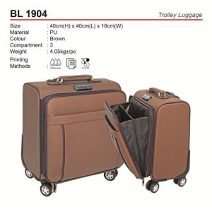 PU Trolley Luggage (BL1904)
