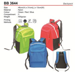Colourful Backpack (BB3644)