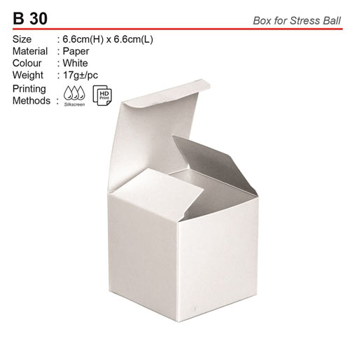Box for Stress Ball (B30)