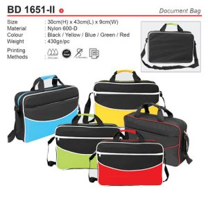 olourful Document Bag (BD1651-II)
