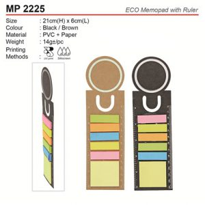 Eco Post it Note with Ruler (MP2225)