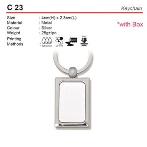 Metal Keychain (C23)
