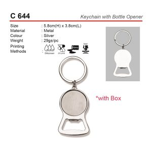 Keychain with Bottle Opener (C644)
