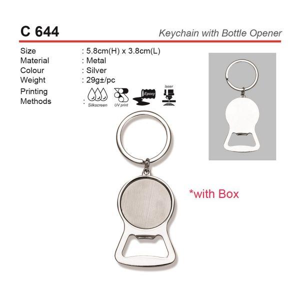 Keychain with Bottle Opener (C644)