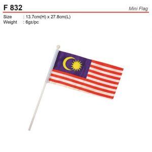 Mini Malaysia Flag (F832)