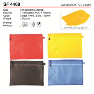 PVC Folder with netting (SF4468)
