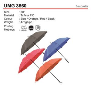 olid Color Golf Umbrella (UMG3560)
