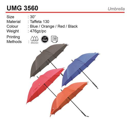 olid Color Golf Umbrella (UMG3560)