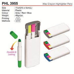 Wax Crayon Highlighter Pens (PHL3955)