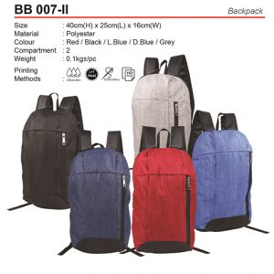 Budget Backpack (BB007-II)