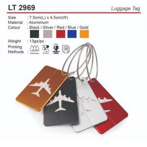 Metal Luggage Tag (LT2969)