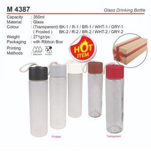 Glass Drinking Bottle (M4387)