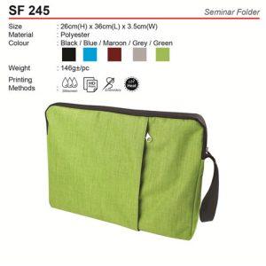 Seminar Folder (SF245)