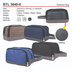 Toiletries Bag (BTL3640-II)