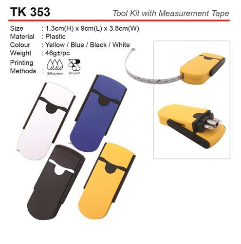 Tool Kit with Measurement Tape (TK353)