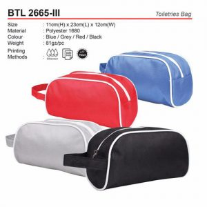 Toiletries Bag (BTL2665-III)