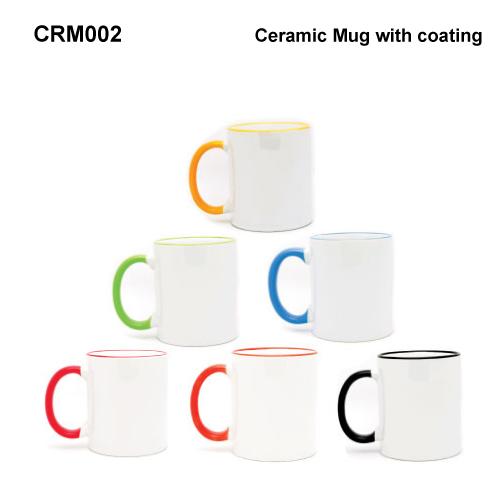 Ceramic Mug with Coating (CRM002)