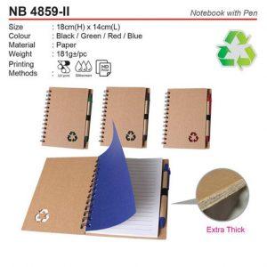 Notebook with pen (NB4859-II)
