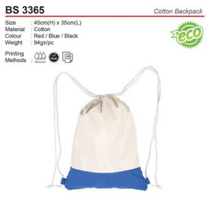 Cotton Sling Bag (BS3365)