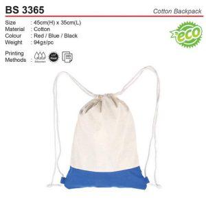 Cotton Sling Bag (BS3365)