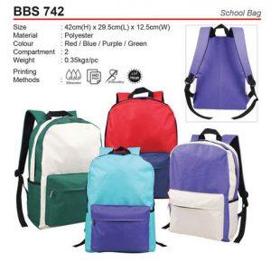 School Bag (BBS742)