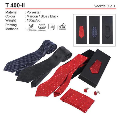 Necktie with box (T400-II)