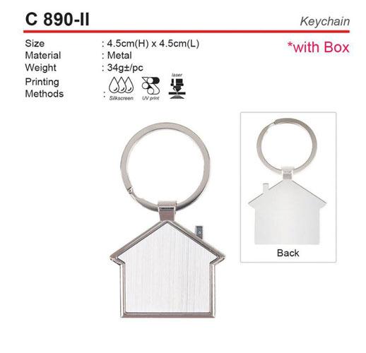 House Shape Keychain (C890-II)