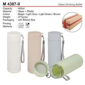 Glass Drinking Bottle (M4387-II)